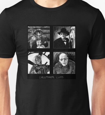 Original Art of Actor Christopher Lloyd Unisex T-Shirt