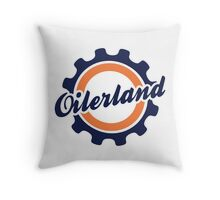 Oilerland Logo  Throw Pillow