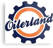 Oilerland Logo  Metal Print