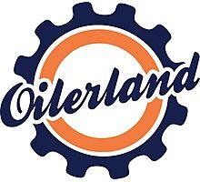 Oilerland Logo  Photographic Print
