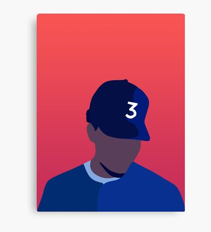 Chance The Rapper Coloring Book Canvas Print