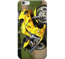 Yellow sv650 iPhone Case/Skin