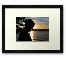 My Man After God's Own Heart Framed Print