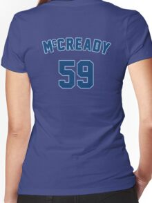 Mike McCready Women's Fitted V-Neck T-Shirt