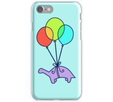 Balloon Dinosaur iPhone Case/Skin