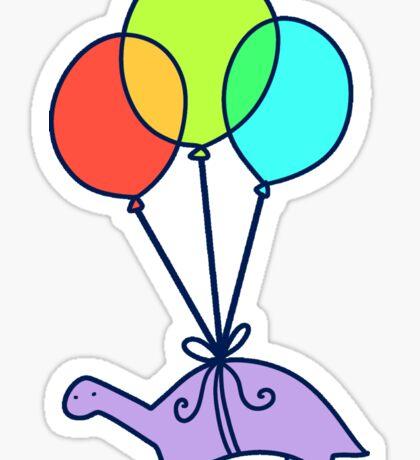 Balloon Dinosaur Sticker