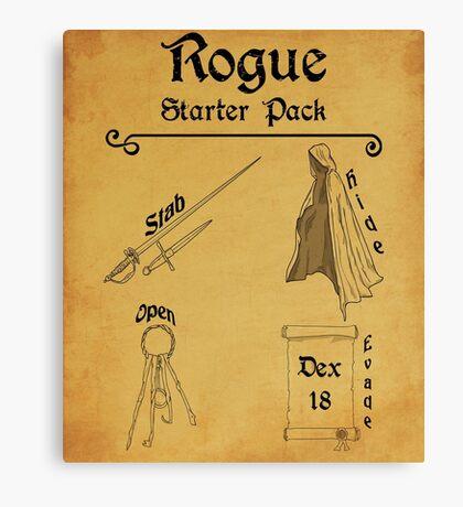 Rogue Starter Pack  Canvas Print