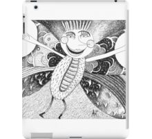 The joyful butterfly iPad Case/Skin