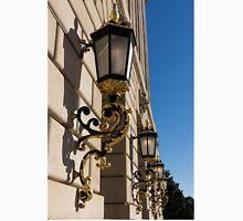 Gilded Lanterns - Washington, DC Facades - Federal Triangle Neighborhood T-Shirt
