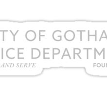 Inspired by Gotham - City of Gotham Police Department Sticker