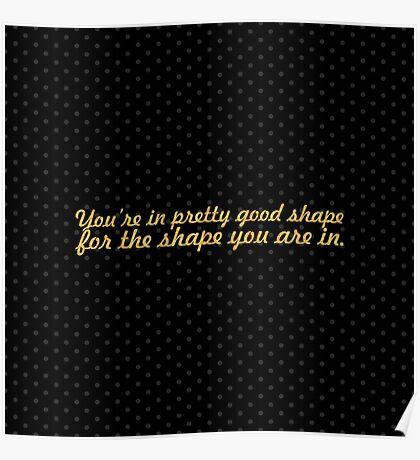 """You're in pretty... """"Dr. Seuss"""" Inspirational Quote Poster"""