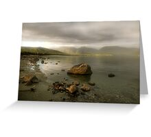 Wake up Fiordland, Here Comes the Sun Greeting Card