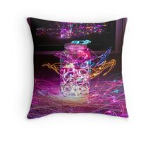 Jar of Lights Throw Pillow