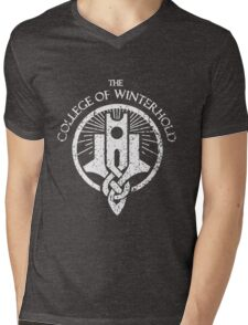 The College of Winterhold Mens V-Neck T-Shirt