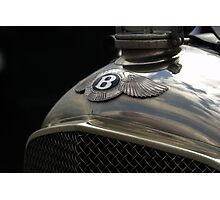 Bentley Photographic Print