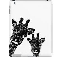 Zentangle Giraffes iPad Case/Skin