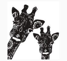 Zentangle Giraffes T-Shirt