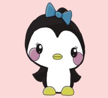 Girl Penguin Kids Tee