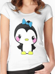 Girl Penguin Women's Fitted Scoop T-Shirt