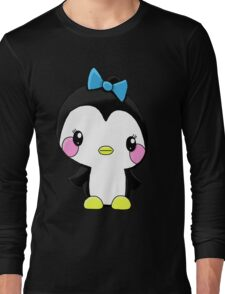 Girl Penguin Long Sleeve T-Shirt