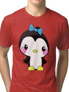 Girl Penguin Tri-blend T-Shirt