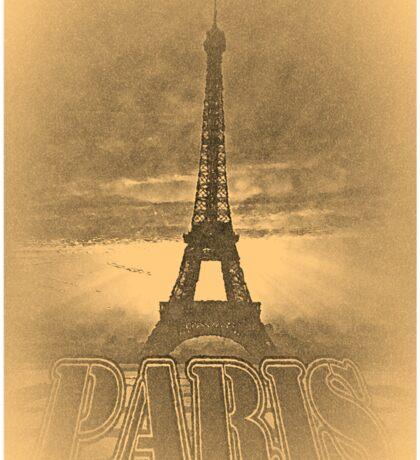 Vintage Paris Eiffel Tower #2 Sticker