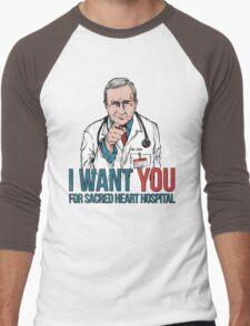 Kelso Wants You! Men's Baseball ¾ T-Shirt