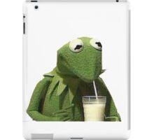 Kermit Drinks Milk iPad Case/Skin