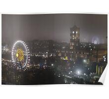 Berlin by Night Poster