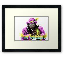 Pimp knuckles Framed Print