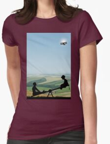 Childhood Dreams, The Seesaw Womens Fitted T-Shirt