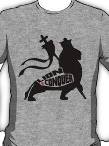 LION CONQUER BLACK T-Shirt