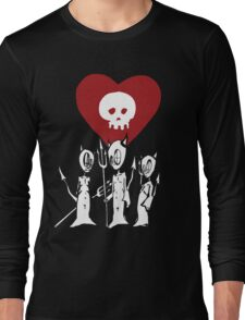 flat alkaline trio Long Sleeve T-Shirt