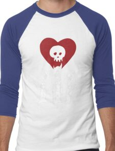 flat alkaline trio Men's Baseball ¾ T-Shirt