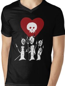 flat alkaline trio Mens V-Neck T-Shirt