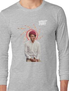 Toro Y Moi / What For Long Sleeve T-Shirt