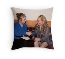 Annie Roberts & Popi Idol Sonia Throw Pillow