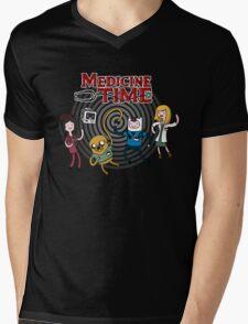 Medicine Time! Mens V-Neck T-Shirt