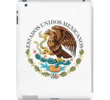 Mexican seal or coat of arms, Authentic version iPad Case/Skin