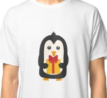 Penguin with Presentbox Classic T-Shirt