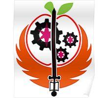 Steel Ranger Insignia Poster