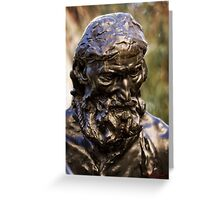 Auguste Rodin Sculpture in Canberra/ACT/Australia Greeting Card