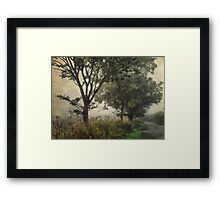 Walking to Hellington Hill Framed Print