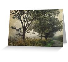Walking to Hellington Hill Greeting Card