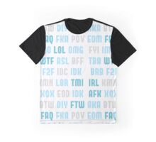 Modern Word Graphic T-Shirt