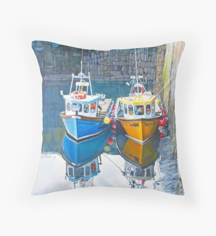 Lets rest here a while Throw Pillow