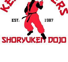 Ken Master's shoryuken dojo by CarloJ1956
