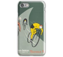 Vintage poster - Bicycle Race iPhone Case/Skin