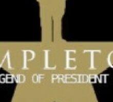 Trump Hamilton Spoof  Sticker