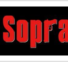 The Sopranos Sticker